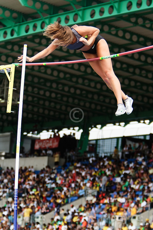 Samsung Diamond League adidas Grand Prix track & field; women's pole vault, Kylie Hutson, USA