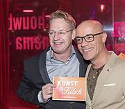 2018, September 24. Schouwburg Amstelveen. Premiere van Kunst en Kitsch. Op de foto: Tony Neef en Stanley Burleson