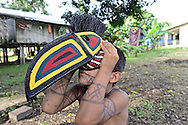 Embera Indigenous Community. Sambu District. Darien Region.