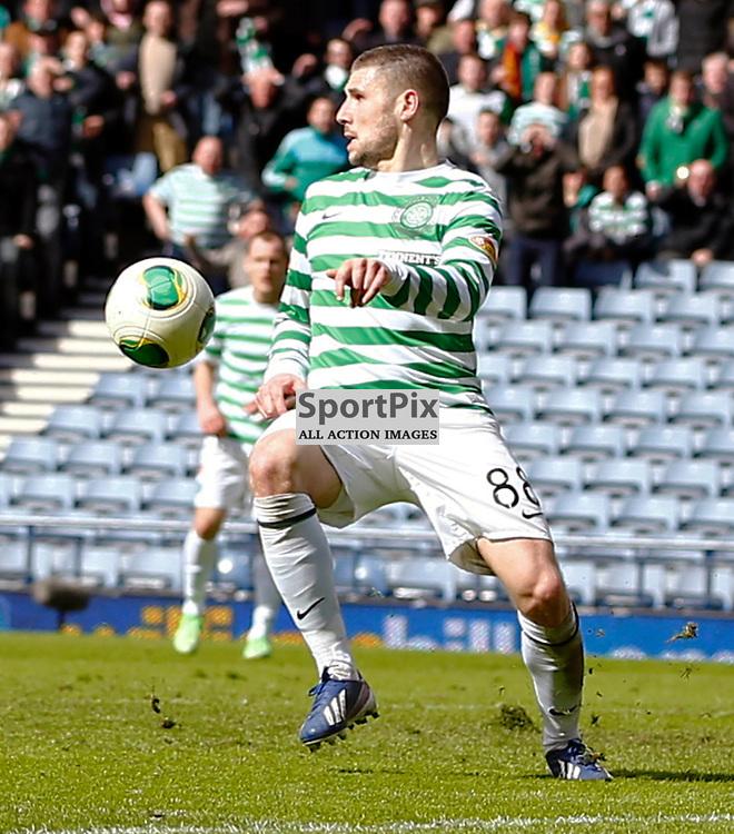 Dundee United v Celtic Scottish Cup Semi Final..Gar Hooper.....(c) STEPHEN LAWSON | StockPix.eu