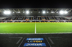 General View of the Liberty Stadium- Mandatory by-line: Nizaam Jones/JMP- 17/01/2018 - FOOTBALL - Liberty Stadium- Swansea, Wales - Swansea City v Wolverhampton Wanderers - Emirates FA Cup third round proper