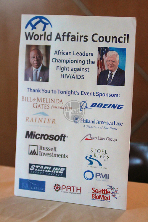 World Affairs Council: African Leaders Championing the Fight against HIV/AIDS