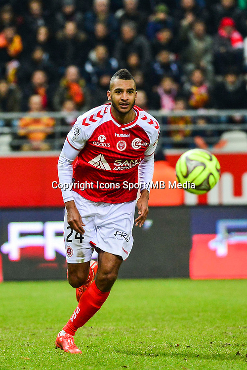 David NGOG - 25.01.2015 - Reims / Lens  - 22eme journee de Ligue1<br /> Photo : Dave Winter / Icon Sport *** Local Caption ***