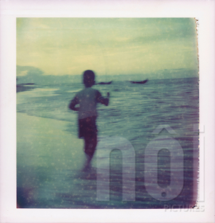 Polaroid 88 of daily life along Vietnam's Central coast, Southeast Asia