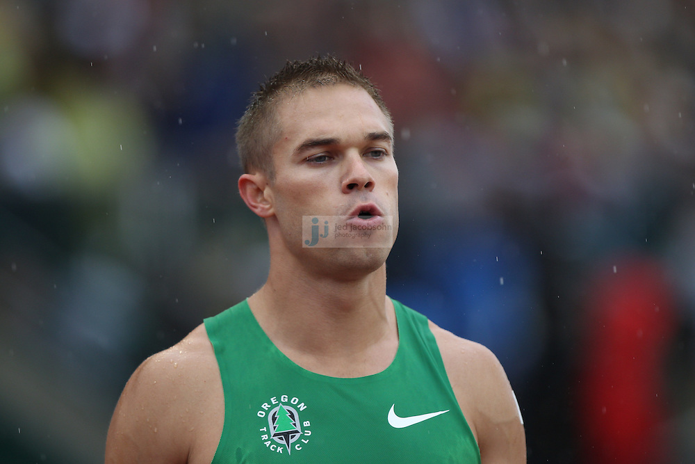 during day 1 of the U.S. Olympic Trials for Track & Field at Hayward Field in Eugene, Oregon, USA 22 Jun 2012..(Jed Jacobsohn/for The New York Times)....