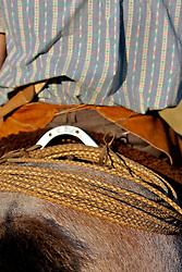 Homem e cavalo companheiros de lida e vida. FOTO: Eduardo Rocha/Preview.com