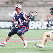 Will Manny #1 of the Boston Cannons is seen during the game at Harvard Stadium on April 27, 2014 in Boston, Massachusetts. (Photo by Elan Kawesch)