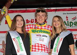 12.07.2019, Kitzbühel, AUT, Ö-Tour, Österreich Radrundfahrt, 6. Etappe, von Kitzbühel nach Kitzbüheler Horn (116,7 km), im Bild Georg Zimmermann (GER, Tirol KTM Cycling Team) im Wiesbauer Bergtrikot des führenden in der Bergwertung // Georg Zimmermann of Germany (Tirol KTM Cycling Team) in the Wiesbauer king of the mountains jersey during 6th stage from Kitzbühel to Kitzbüheler Horn (116,7 km) of the 2019 Tour of Austria. Kitzbühel, Austria on 2019/07/12. EXPA Pictures © 2019, PhotoCredit: EXPA/ Reinhard Eisenbauer