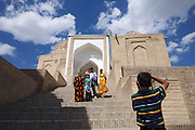 Uzbekistan, Samarqand. Shah-i-Zinda Ensemble.