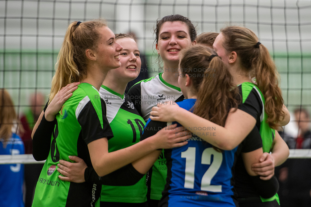31-03-2019 NED: Final A Volleybaldirect Open, Koog aan de Zaan<br /> 16 teams of girls and boys D competed for the Dutch Open Championship / Sudosa