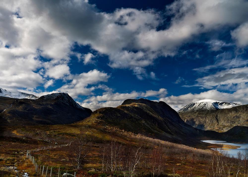 Knutshøe at the edge of Joutunheimen, Norway.