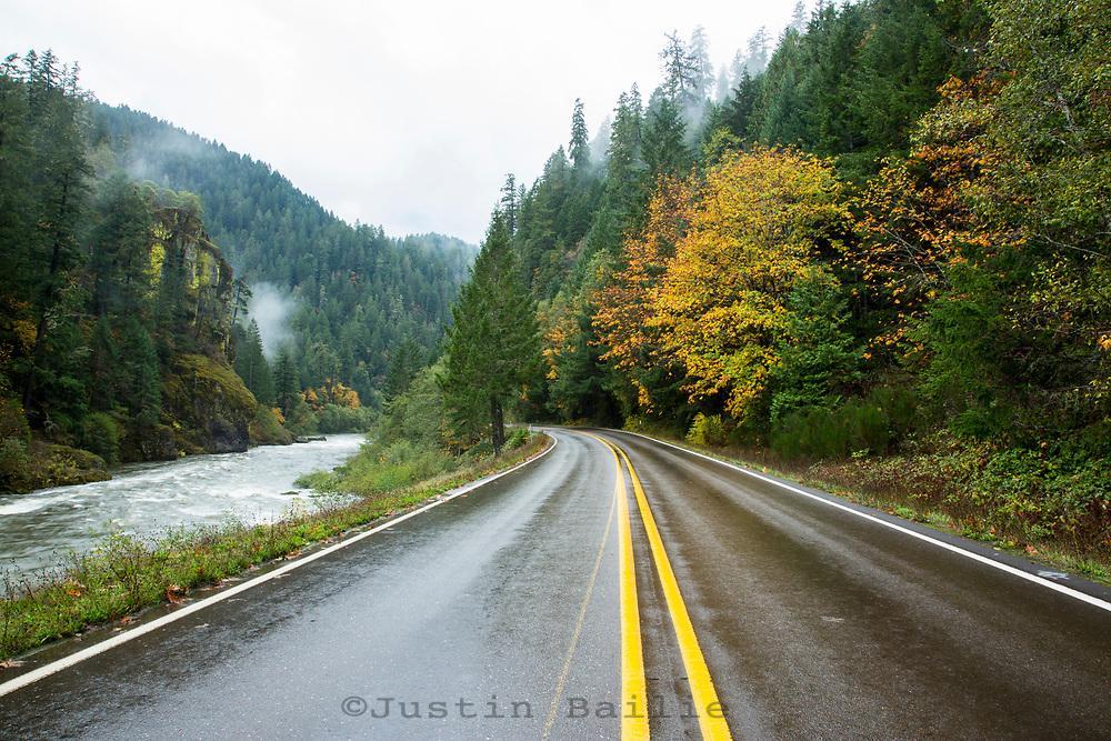 North Umpqua River along Highway 138 in Southern Oregon.