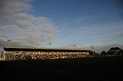 General views inside the stadium - Mandatory by-line: Nizaam Jones/JMP- 17/07/2018 - FOOTBALL - New Lawn Stadium - Nailsworth, England - Forest Green Rovers v Leeds United - Pre-season friendly