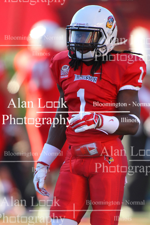 06 Sep 2014: Tevin Allen during a non-conference NCAA football game between the Delta Devils of Mississippi Valley State and the Redbirds of Illinois State at Hancock Stadium in Normal Il