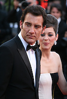 Clive Owen, Marion Cotillard, at the Blood Ties film gala screening at the Cannes Film Festival Monday 20th May 2013