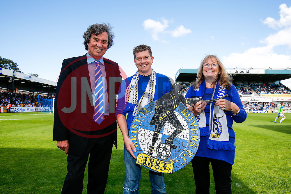 Half Time masic Bristol Rovers crest presentation - Mandatory byline: Rogan Thomson/JMP - 07966 386802 - 12/09/2015 - FOOTBALL - Memorial Stadium - Bristol, England - Bristol Rovers v Accrington Stanley - Sky Bet League 2.