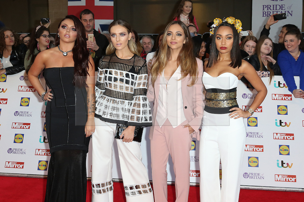 Little Mix, Pride of Britain Awards, Grosvenor House Hotel, London UK. 28 September, Photo by Richard Goldschmidt /LNP © London News Pictures