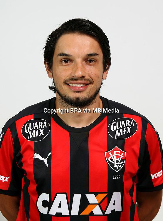 Brazilian Football League Serie A / <br /> ( Esporte Clube Vitoria-Bahia ) - <br /> Tiago Real do Prado &quot; Tiago Real &quot;