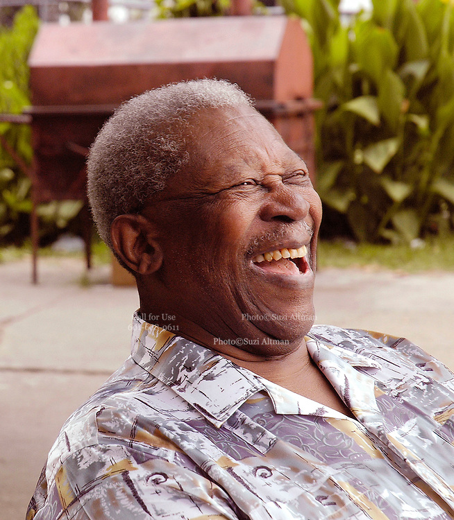 One of a kind, legendary blues guitarist and Mississippi native B.B. King tapes his oral history for his new museum in Indianola Mississippi. Photos ©Suzi Altman