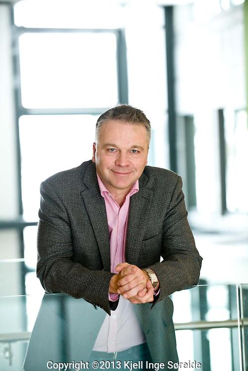Christian Altmann, kommunikasjonsdirektør i Agder Energi...Foto: Kjell Inge Søreide..