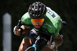 July 22, 2018 - Mende, FRANCE - Slovak Peter Sagan of Bora-Hansgrohe pictured in action during the 15th stage in the 105th edition of the Tour de France cycling race, from Millau to Carcassone (181,5km), France, Sunday 22 July 2018. This year's Tour de France takes place from July 7th to July 29th. BELGA PHOTO YUZURU SUNADA - FRANCE OUT (Credit Image: © Yuzuru Sunada/Belga via ZUMA Press)