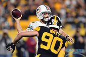NFL-Miami Dolpins at Pittsburgh Steelers-Oct 28, 2019
