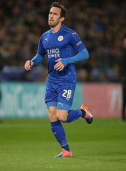 Christian Fuchs of Leicester City - Mandatory by-line: Alex James/JMP - 18/10/2016 - FOOTBALL - King Power Stadium - Leicester, England - Leicester City v FC Copenhagen - UEFA Champions League