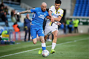 Peterborough midfielder Darren Lyon (22) attacking down the wing during the EFL Sky Bet League 1 match between Peterborough United and Burton Albion at London Road, Peterborough, England on 4 May 2019.