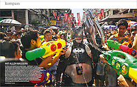 A feature on Songkran, the Thai New Year.