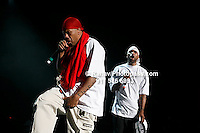 Method Man and Redman (red head gear) at Nikon at Jones Beach Amphitheater for 'Rock The Bells' 2008 on August 3, 2008. .. Rock The Bells