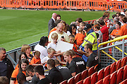 United players sign autographs - Dundee United open day at Tannadice<br /> <br />  - Pictures © David Young