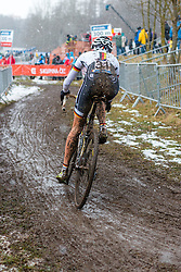 Jessica Lambracht (GER), Women Elite, Cyclo-cross World Championships Tabor, Czech Republic, 31 January 2015, Photo by Pim Nijland / PelotonPhotos.com