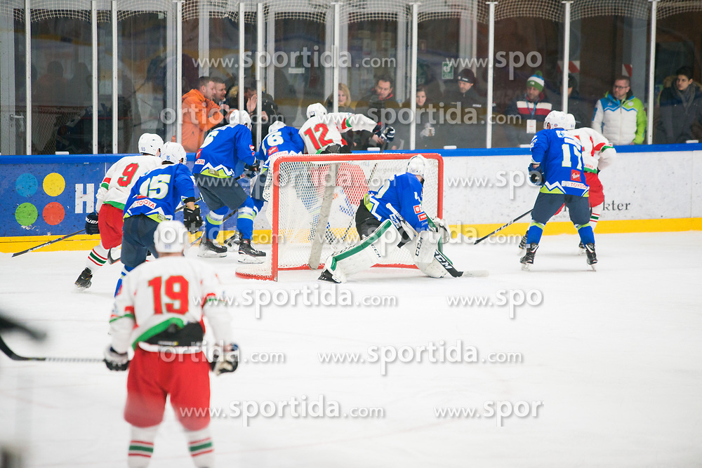 Miha Pintaric during Ice Hockey match between National teams of Slovenia and Belarus at International tournament Euro ice hockey Challenge 2019, on February 9, 2019 in Ice Arena Bled, Slovenia. Photo by Peter Podobnik / Sportida