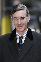 © Licensed to London News Pictures. 12/03/2019. London, UK. Conservative MP Jacob Rees-Mogg is seen near Parliament ahead of the meaningful vote on the Brexit withdrawal agreement in The House of Commons later. Photo credit: Peter Macdiarmid/LNP