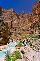 Havasu Creek, Whitewater rafting trip (oar trip) on the Colorado River in Grand Canyon, Grand Canyon National Park, Arizona USA