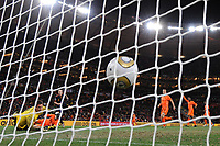 FOOTBALL - FIFA WORLD CUP 2010 - FINAL - SPAIN vs NETHERLANDS - JOHANNESBURG 11/07/2010 - GOAL ANDRES INESTA (ESP)<br /> PHOTO FRANCK FAUGERE / DPPI