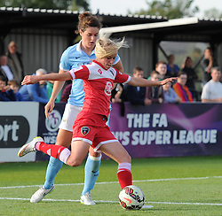 Bristol Academy's Nadia Lawrence - Photo mandatory by-line: Paul Knight/JMP - Mobile: 07966 386802 - 18/07/2015 - SPORT - Football - Bristol - Stoke Gifford Stadium - Bristol Academy Women v Manchester City Women - FA Women's Super League