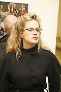 Camilla Long, Matthieu Laurette exhibition. Blow de la Barra, Heddon St. London 1 April 2006. ONE TIME USE ONLY - DO NOT ARCHIVE  © Copyright Photograph by Dafydd Jones 66 Stockwell Park Rd. London SW9 0DA Tel 020 7733 0108 www.dafjones.com