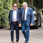 NLD/Bilthoven/20170706 - Uitvaart Ton de Leeuwe, ex partner Anita Meyer, Jan Rietman en Lee Towers