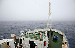 SOUTHERN OCEAN ESPERANZA 28DEC07 - Foggy sea and low visibility in the Southern Ocean around the 60th degree latitude seen from aboard the MY Esperanza...jre/Photo by Jiri Rezac..© Jiri Rezac 2007..Contact: +44 (0) 7050 110 417.Mobile:  +44 (0) 7801 337 683.Office:  +44 (0) 20 8968 9635..Email:   jiri@jirirezac.com.Web:    www.jirirezac.com..© All images Jiri Rezac 2007 - All rights reserved.