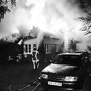 Brand Godelindweg Naarden, 3 Dudokvilla's verwoest