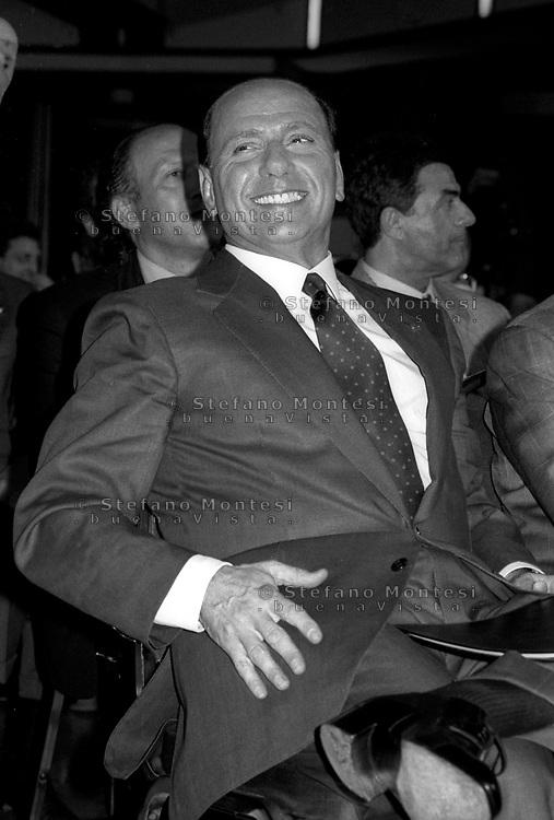 Roma  1997.Silvio Berlusconi