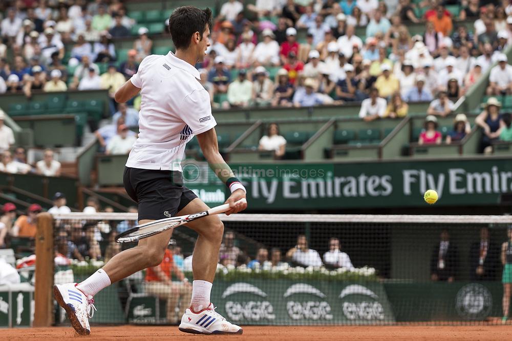 May 29, 2017 - Paris, Frankreich - Paris, 29.05.2017, Tennis - French Open 2017, Novak Djokovic (SRB) (Credit Image: © Pascal Muller/EQ Images via ZUMA Press)