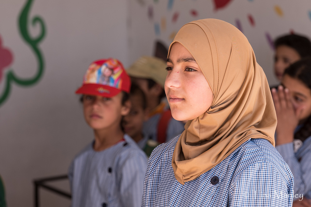 Kab Elias Education Center in Bakaa Valley, run by NESSL for Syrian refugee children.