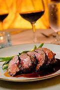 July 10, 2008; Winter Garden, Florida: Pork Loin at Chef's Table in WInter Garden,..© 2008 Scott A. Miller