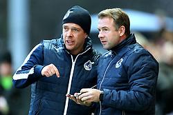 Bristol Rovers manager Darrell Clarke discusses tactics - Mandatory by-line: Matt McNulty/JMP - 14/01/2017 - FOOTBALL - Highbury Stadium - Fleetwood, England - Fleetwood Town v Bristol Rovers - Sky Bet League One