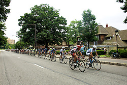 The peleton races over Kelly Drive towards Manyunk. (Bas Slabbers/for NewsWorks)..