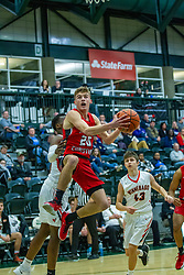 28 December 2019: State Farm Holiday Classic Coed Basketball Tournament , Normal-Bloomington Illinois<br /> <br /> Aurora Christian Eagles v Winnebago Indians boys basketball