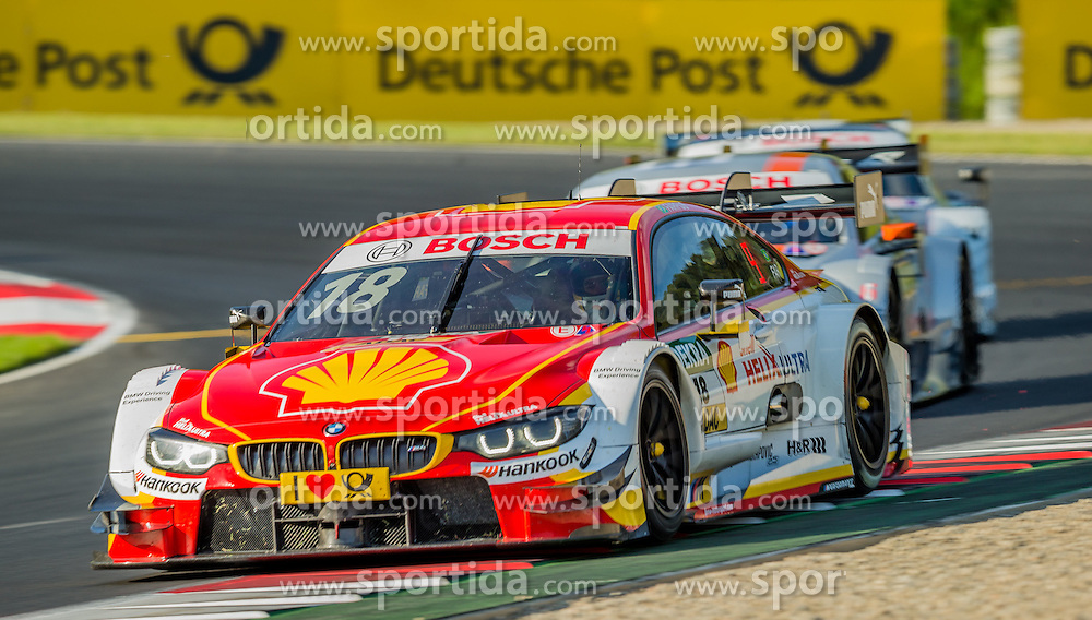 21.05.2016, Red Bull Ring, Spielberg, AUT, DTM Red Bull Ring, Rennen, im Bild Augusto Farfus (BRA, BMW M4 DTM) // during the DTM Championships 2016 at the Red Bull Ring in Spielberg, Austria, 2016/05/21, EXPA Pictures © 2016, PhotoCredit: EXPA/ Dominik Angerer