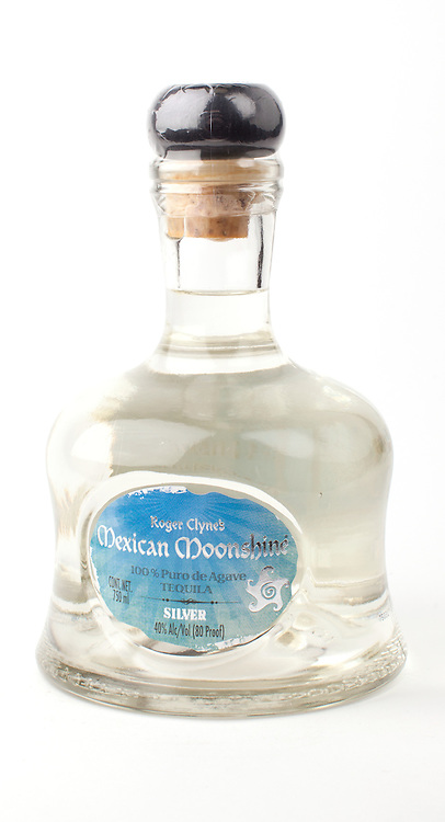 Roger Clyne's Mexican Moonshine Silver -- Image originally appeared in the Tequila Matchmaker: http://tequilamatchmaker.com